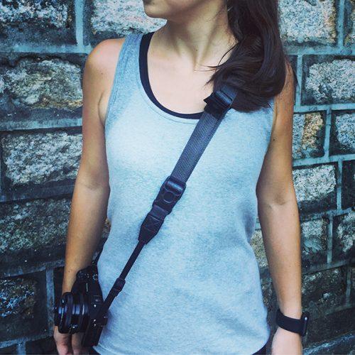 diagnl ninja camera strap charcoal grey color 25mm for digital camera