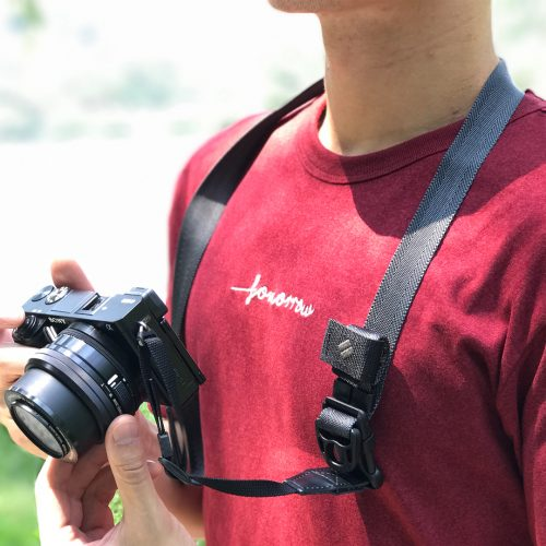 diagnl ninja camera strap 25mm charcoal grey
