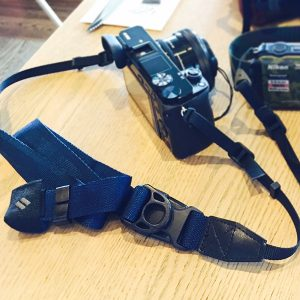 diagnl ninja camera strap navy 25mm