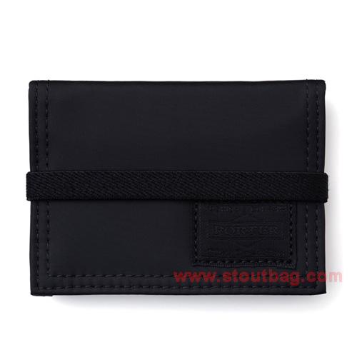 head porter black beauty card case