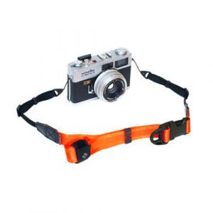 diagnl ninja camera strap neon orange 25mm for mirrorless camera or digital camera