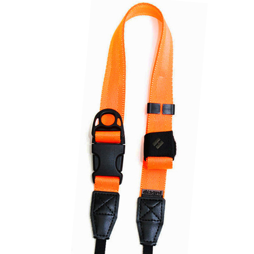 diagnl ninja camera strap neon orange for digital camera