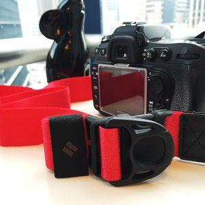 diagnl 忍者相機帶 紅色 單反用
