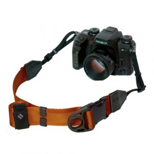 diagnl ninja camera strap dark orange 38mm for DSLR