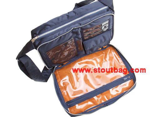 4913fd40fc Head Porter Tanker Shoulder Bag M Navy