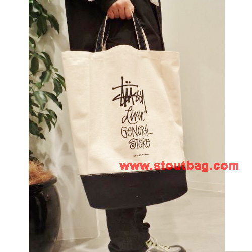 stussy-gs-2way-tote-stock-logo-black-model1