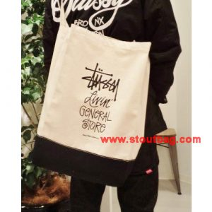 stussy-gs-2way-tote-stock-logo-black-model2