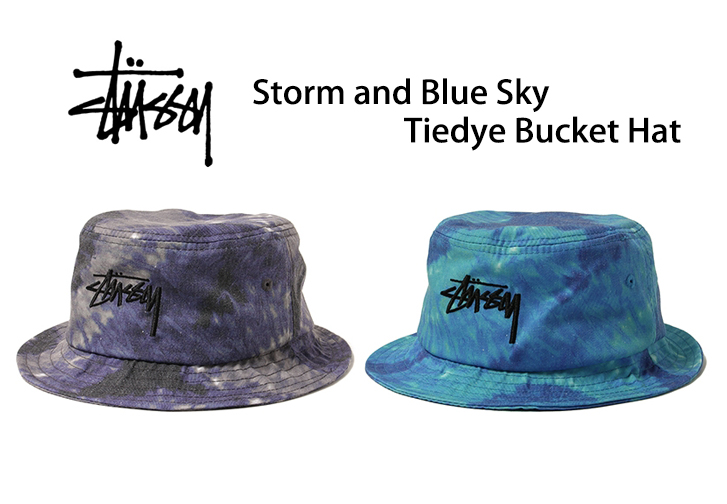 Stussy Storm and Blue Sky Bucket Hat | STOUT 日本及韓國潮流網店 ...