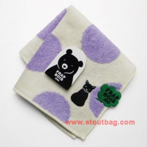 frapbois-zoo-dot-cat-towel-purple-2