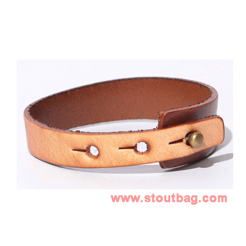 mercibeaucoup-logo-leather-strap-brown-2