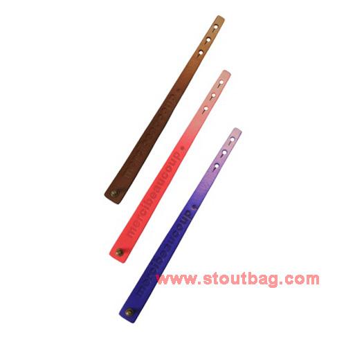 mercibeaucoup-logo-leather-strap-multi