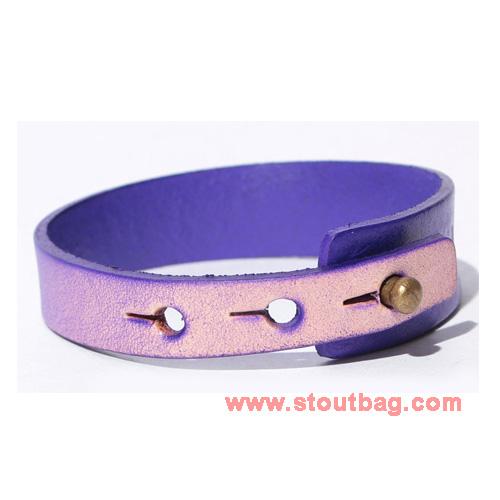 mercibeaucoup-logo-leather-strap-purple-2