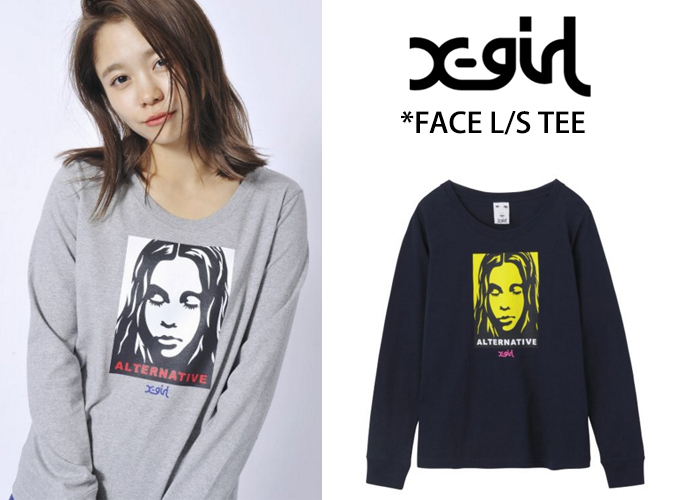 x-girl-face-tee