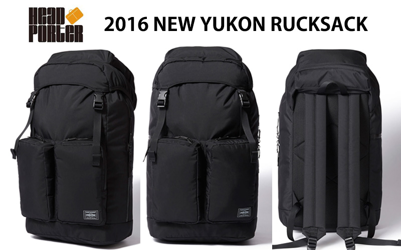 5fe99015a4af HEAD PORTER 2016 NEW RELEASE YUKON RUCKSACK