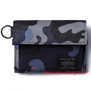 head porter jungle wallet m navy