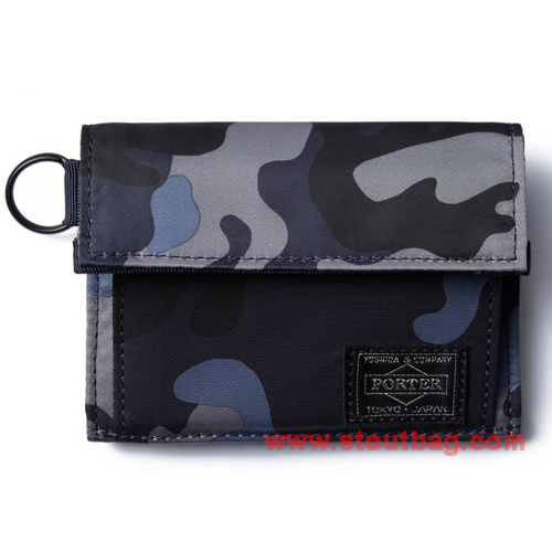 head porter jungle wallet m navy
