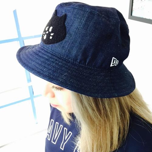 ne-net-nya-new-era-denim-bucket-hat-model