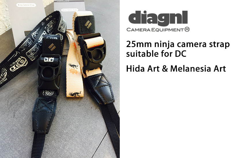 diagnl-ninja-camera-strap-art-pattern