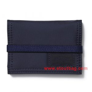 head porter master navy card case