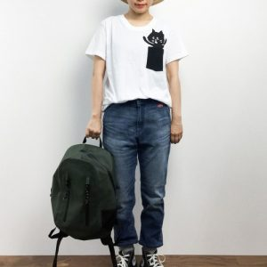 ne-net nya pocket tee white for women