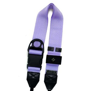 diagnl ninja camera strap 38mm lilac purple