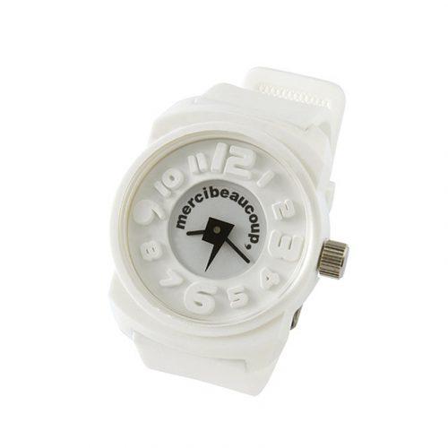 mercibeaucoup toy watch mono white