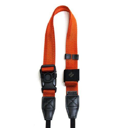 diangl ninja camera strap dark orange for digital camera