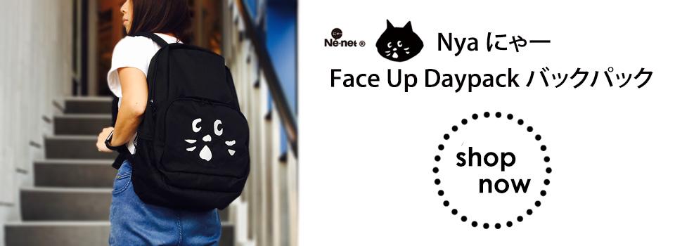 ne-net nya face up backpack