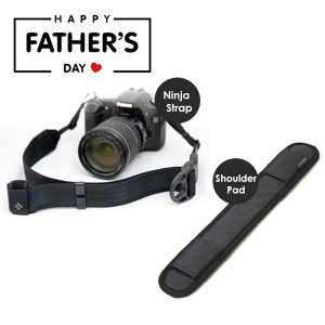 Father Day Gift on Camera strap