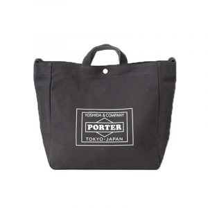 lowercasexporter-totebag-charcoal by stoutbag online