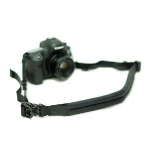 diagnl 38mm ninja camera stra with pad black